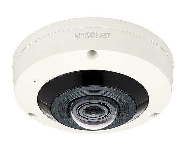 Камера видеонаблюдения с объективом рыбий глаз Wisenet XNF-8010RV