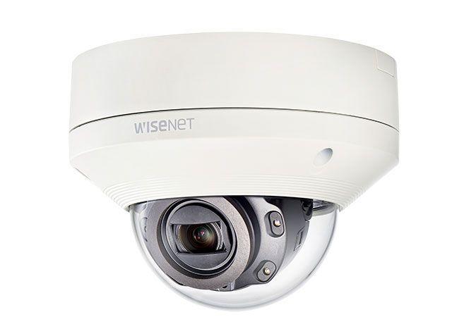 Купольная камера Wisenet XNV-6080R с разрешением 2 мегапикселя