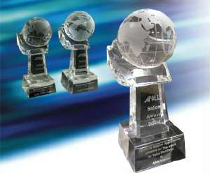 Кубок Top award for Sales Worldwide
