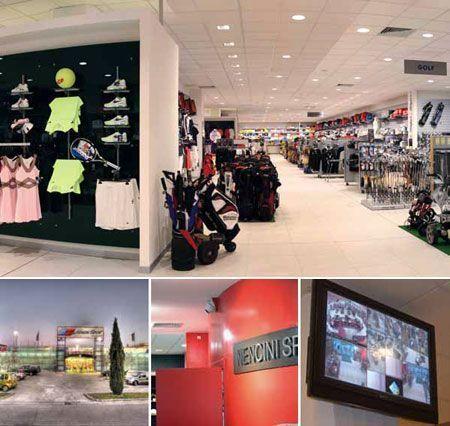 9e784370 Сеть магазинов спортивных товаров под охраной IP-камер Axis