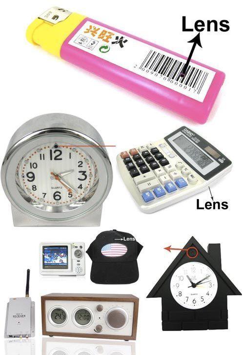 Маленькая камера видеонаблюдения с датчиком движения и записью