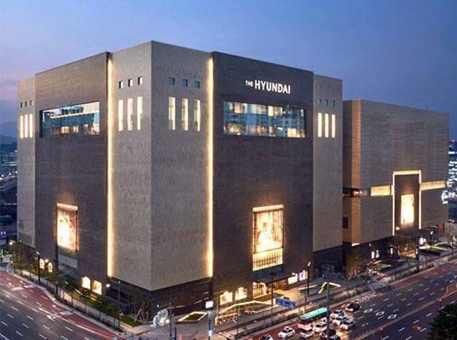 Торговый комплекс Hyundai Pangyo Store