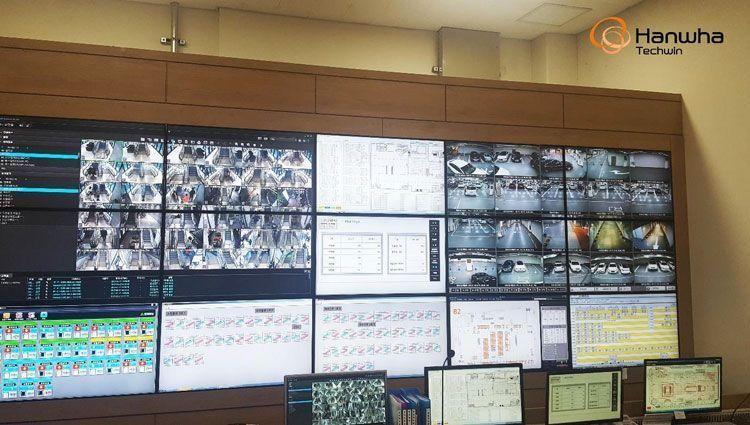 Центр управления безопасностью торгового комплекса Hyundai Pangyo Store
