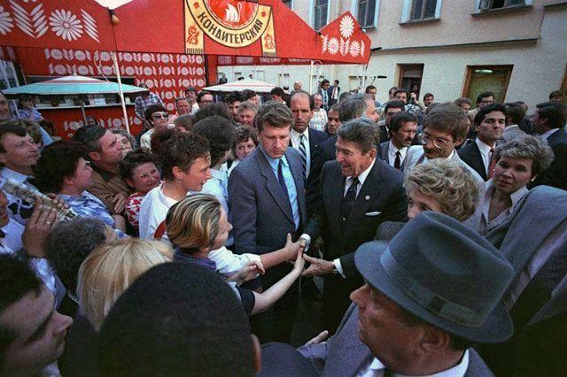 Рональд Рейган в СССР