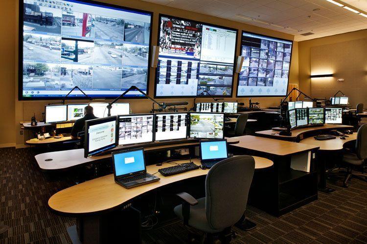 Дизайн поста управления и задачи системы видеонаблюдения