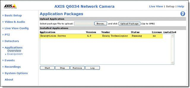 AXIS Camera Application Platform (ACAP)